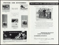 """Movie Posters:Crime, Bonnie and Clyde (Warner Bros-Seven Arts, 1967). Overall: Very Fine. Uncut Pressbook (24 Pages, 11"""" X 17"""") & Lobby Card (14""""... (Total: 2 Items)"""