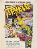 """Movie Posters:Horror, Tormented (Allied Artists, 1960). Rolled, Fine+. Poster (30"""" X 40""""). Horror.. ..."""