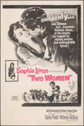 """Movie Posters:Foreign, Two Women (Embassy, 1961). Rolled, Fine/Very Fine. Poster (40"""" X 60""""). Foreign.. ..."""