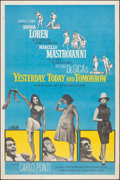 "Movie Posters:Foreign, Yesterday, Today and Tomorrow (Embassy, 1964). Rolled, Very Fine-. Poster (40"" X 60""). Foreign.. ..."