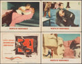 """Movie Posters:Hitchcock, North by Northwest (MGM, 1959). Fine/Very Fine. Title Lobby Card & Lobby Cards (3) (11"""" X 14""""). Hitchcock.. ... (Total: 4 Items)"""