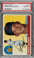 Baseball Cards:Singles (1950-1959), 1955 Topps Harmon Killebrew #124 PSA NM-MT 8. ...