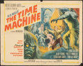 """Movie Posters:Science Fiction, The Time Machine (MGM, 1960). Folded, Fine. Half Sheet (22"""" X 28"""") Style A, Reynold Brown Artwork. Science Fiction.. ..."""