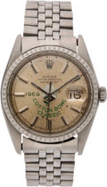 Football Collectibles:Others, 1969 Cotton Bowl Classic Championship Rolex Watch Presented to Lineman Charles Rogers....