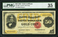 Large Size:Gold Certificates, Fr. 1196 $50 1882 Gold Certificate PMG Choice Very Fine 35.. ...