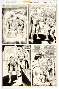 Curt Swan and Murphy Anderson Action Comics #414 Story Page 9 Original Art (DC, 1972)
