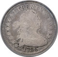 Early Quarters, 1796 25C B-2, R.3, AG3 PCGS....