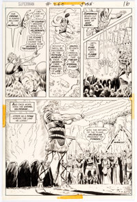 Curt Swan and Murphy Anderson Superman #260 Story Page 14 Original Art (DC, 1973)