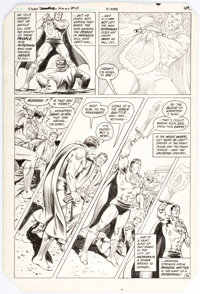 Curt Swan and Murphy Anderson Superman Annual #10 Story Page 36 Original Art (DC, 1984)