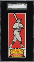 Baseball Cards:Singles (1950-1959), 1951 Topps Connie Mack All-Time All-Stars Babe Ruth SGC 92 NM/MT+ 8.5. ...