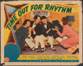 "Movie Posters:Comedy, Time Out for Rhythm (Columbia, 1941). Fine. Lobby Card (11"" X 14""). Comedy.. ..."