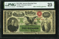 Fr. 196a $10 1863 Interest Bearing Note PMG Very Fine 25