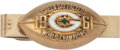 Football Collectibles:Others, 1961 Green Bay Packers World Champions Tie Clasp Gifted from Vince Lombardi. ...