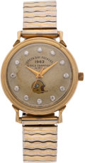 Football Collectibles:Others, 1962 Green Bay Packers NFL Championship Watch Presented to Linebacker Bill Forester....