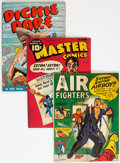 Golden Age (1938-1955):Miscellaneous, Comic Books - Assorted Golden Age Comics Group of 4 (Various Publishers, 1942-44) Condition: Average VG+.... (Total: 4 )