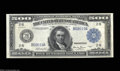 Large Size:Federal Reserve Notes, Fr. 1132 $500 1918 Federal Reserve Note Extremely Fine. A ...