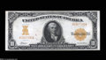 Large Size:Gold Certificates, Fr. 1169 $10 1907 Gold Certificate Extremely Fine. This ...