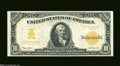 Large Size:Gold Certificates, Fr. 1172 $10 1907 Gold Certificate About New. A bright, ...