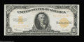 Large Size:Gold Certificates, Fr. 1173 $10 1922 Gold Certificate Choice About New. ...