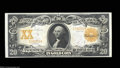 Large Size:Gold Certificates, Fr. 1184 $20 1906 Gold Certificate Choice About New. Very ...