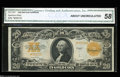Large Size:Gold Certificates, Fr. 1187 $20 1922 Gold Certificate Star Note CGA About ...