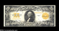 Large Size:Gold Certificates, Fr. 1187 $20 1922 Gold Certificate Choice About New. An ...