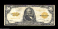 Large Size:Gold Certificates, Fr. 1200 $50 1922 Gold Certificate Choice Fine. Fully Very ...