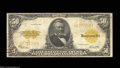 Large Size:Gold Certificates, Fr. 1200 $50 1922 Gold Certificate Fine. Slightly better ...