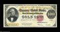 Large Size:Gold Certificates, Fr. 1215 $100 1922 Gold Certificate Very Fine-Extremely Fine....