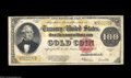 Large Size:Gold Certificates, Fr. 1215 $100 1922 Gold Certificate Very Fine. An ...