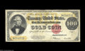 Large Size:Gold Certificates, Fr. 1215 $100 1922 Gold Certificate Very Good-Fine. Strong ...