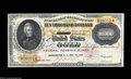 Large Size:Gold Certificates, Fr. 1225 $10,000 1900 Gold Certificate Extremely Fine.This ...