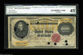 Large Size:Gold Certificates, Fr. 1225 $10,000 1900 Gold Certificate CGA Extremely Fine 45,...