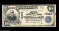 National Bank Notes:Oregon, Scappoose, OR - $10 1902 Plain Back Fr. 632 The First NB ...