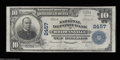 National Bank Notes:Pennsylvania, Brownsville, PA - $10 1902 Plain Back Fr. 633 The ...