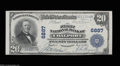 National Bank Notes:Pennsylvania, Coalport, PA - $20 1902 Plain Back Fr. 650 The First NB