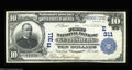 National Bank Notes:Pennsylvania, Gettysburg, PA - $10 1902 Plain Back Fr. 624 The First ...