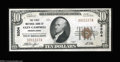 National Bank Notes:Pennsylvania, Glen Campbell, PA - $10 1929 Ty. 1 The First NB Ch. # ...