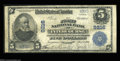 National Bank Notes:Pennsylvania, Intercourse, PA - $5 1902 Plain Back Fr. 600 The First ...