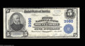 National Bank Notes:Pennsylvania, Mount Carmel, PA - $5 1902 Plain Back Fr. 600 The First ...