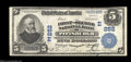 National Bank Notes:Pennsylvania, Pittsburgh, PA - $5 1902 Plain Back Fr. 604 The First-... (2 notes)
