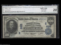 National Bank Notes:Pennsylvania, Pittsburgh, PA - $100 1902 Date Back Fr. 689 The Farmers ...