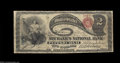 National Bank Notes:Pennsylvania, Pittsburgh, PA - $2 Original Fr. 387 The Mechanics NB ...