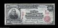 National Bank Notes:Pennsylvania, Pittsburgh, PA - $10 1902 Red Seal Fr. 613 The Peoples ...