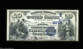 National Bank Notes:Pennsylvania, Pittsburgh, PA - $20 1882 Date Back Fr. 552 The Duquesne ...