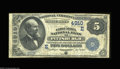 National Bank Notes:Pennsylvania, Pittsburgh, PA - $5 1882 Date Back Fr. 533 The Columbia ...