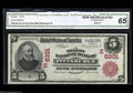 National Bank Notes:Pennsylvania, Pittsburgh, PA - $5 1902 Red Seal Fr. 587 The Mellon NB