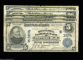 National Bank Notes:Pennsylvania, Five Different Pittsburgh Banks.