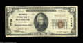 National Bank Notes:Pennsylvania, Rochester, PA - $20 1929 Ty. 1 The Peoples NB Ch. # ...