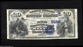 National Bank Notes:Pennsylvania, Sayre, PA - $20 1882 Date Back Fr. 555 The First NB Ch....